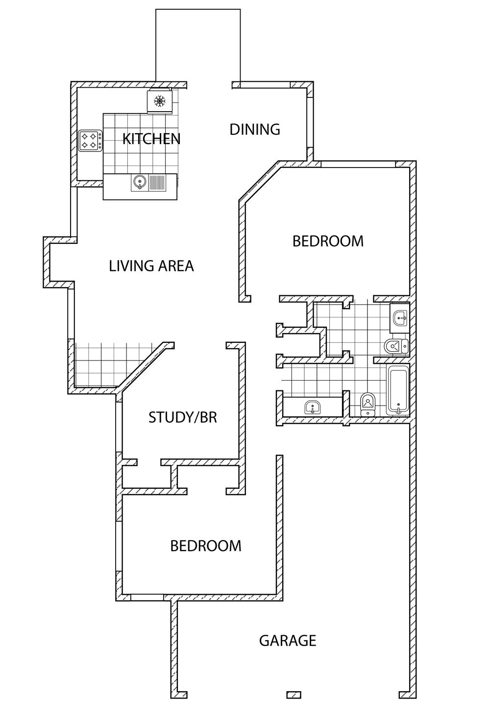 Plan E Patio Home